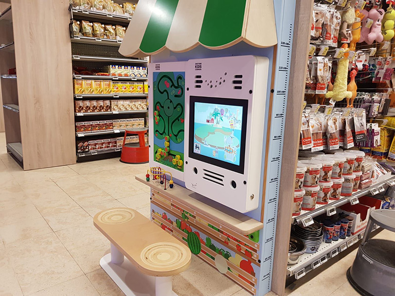 Delhaize supermarkets custom kids corner | IKC