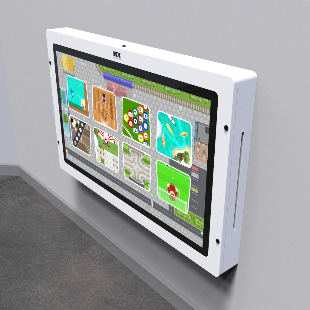 This image shows an interactive play system Delta 43 inch