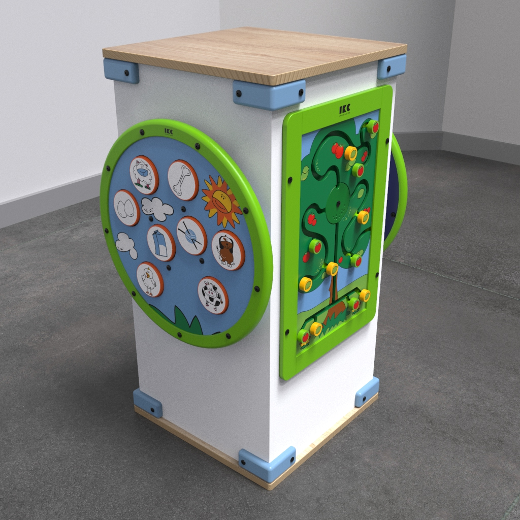 This image shows a play system | IKC play systems