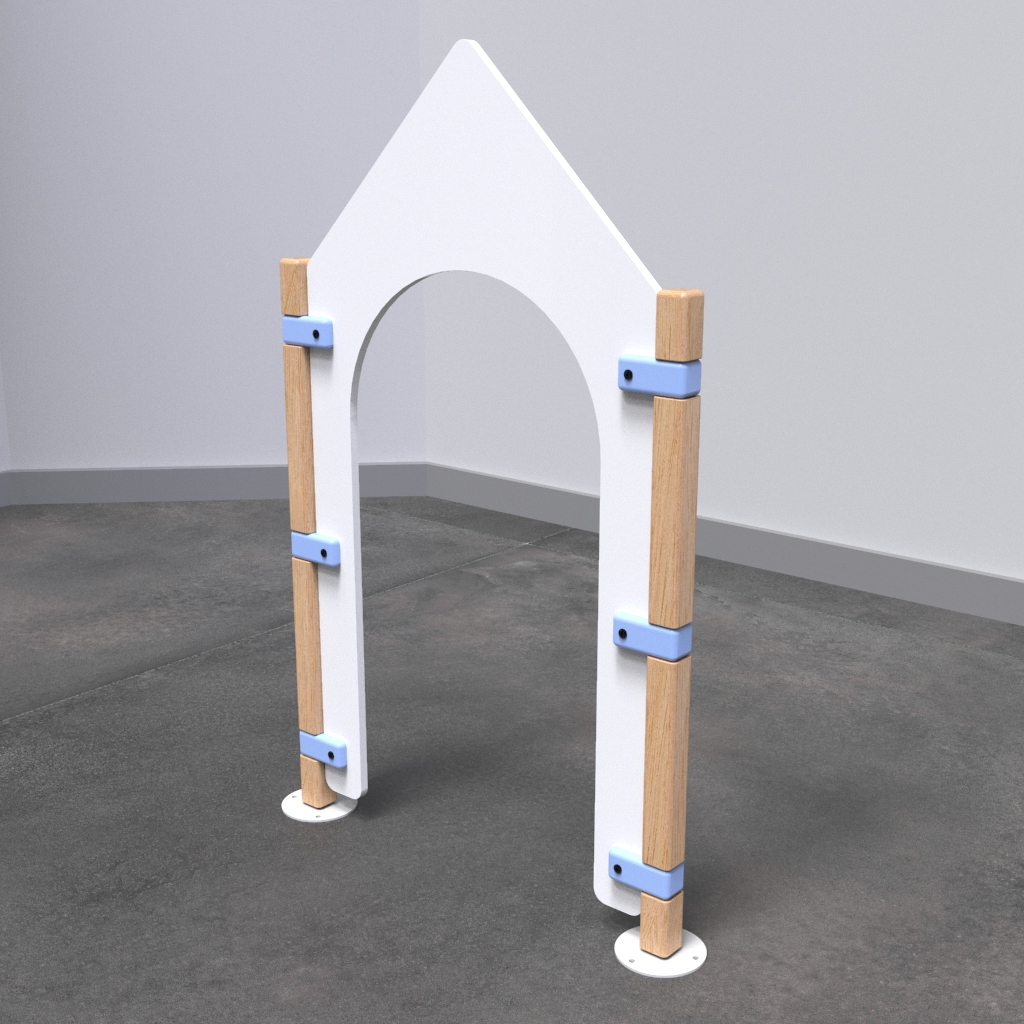 This image shows Play Fence gate