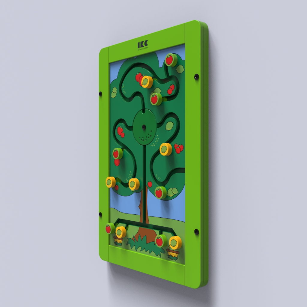 This image shows a wall game Sorting tree