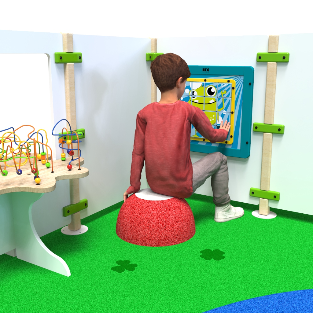 This image shows Play fence Monster playpanel