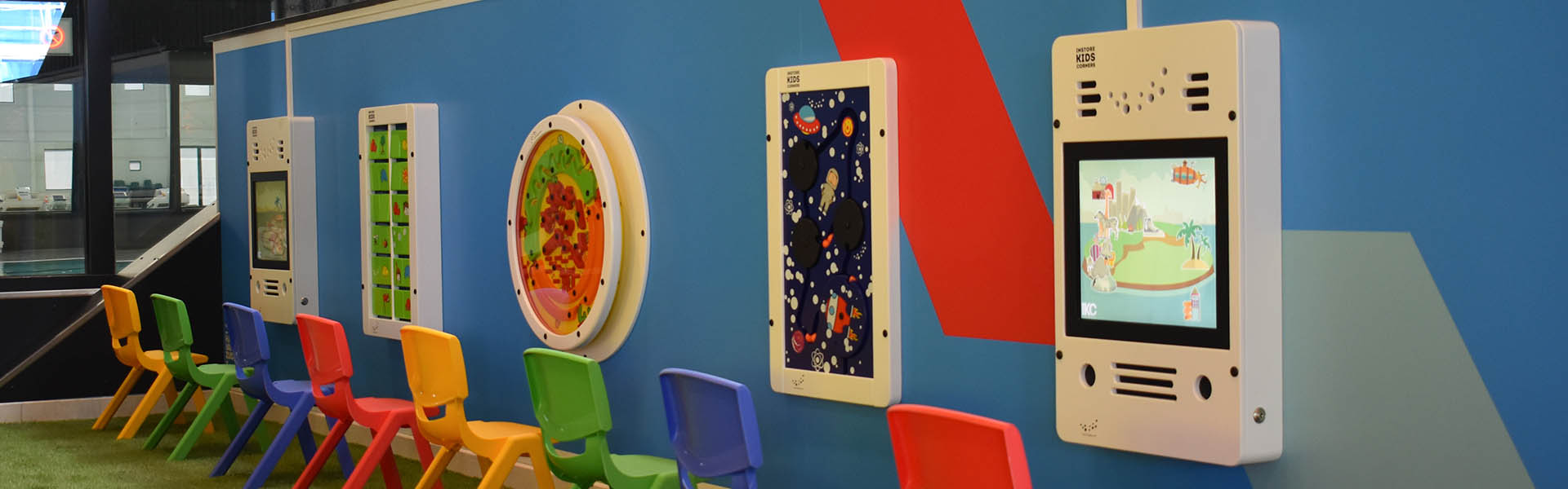 This image shows an interactive Play corner leisure