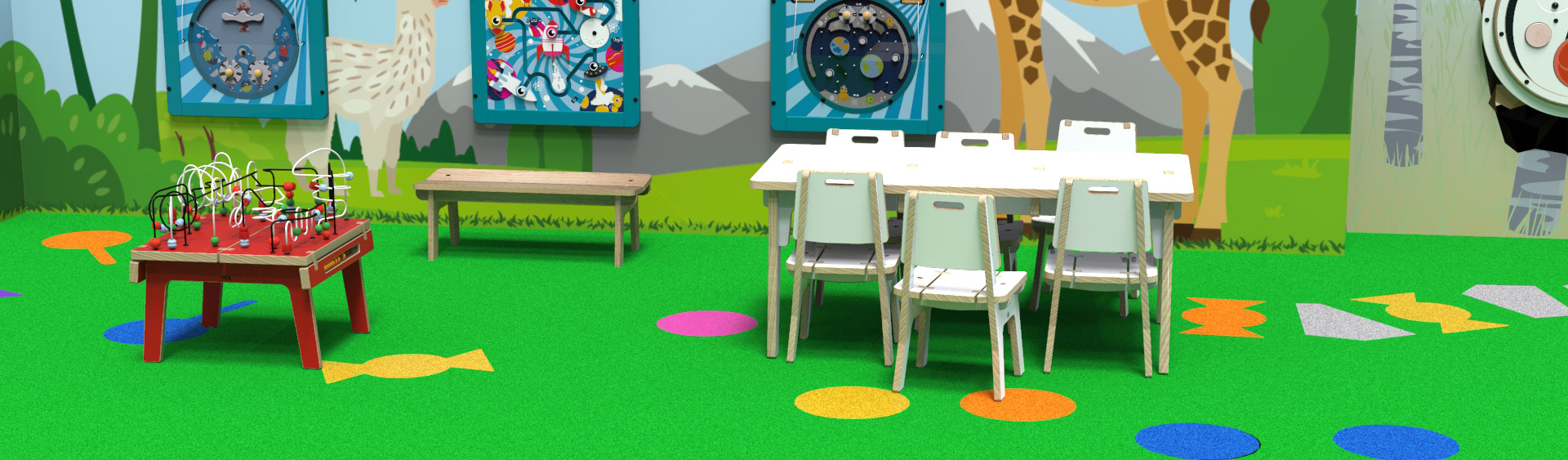 Kids furniture with IKC kids tables and kids chairs
