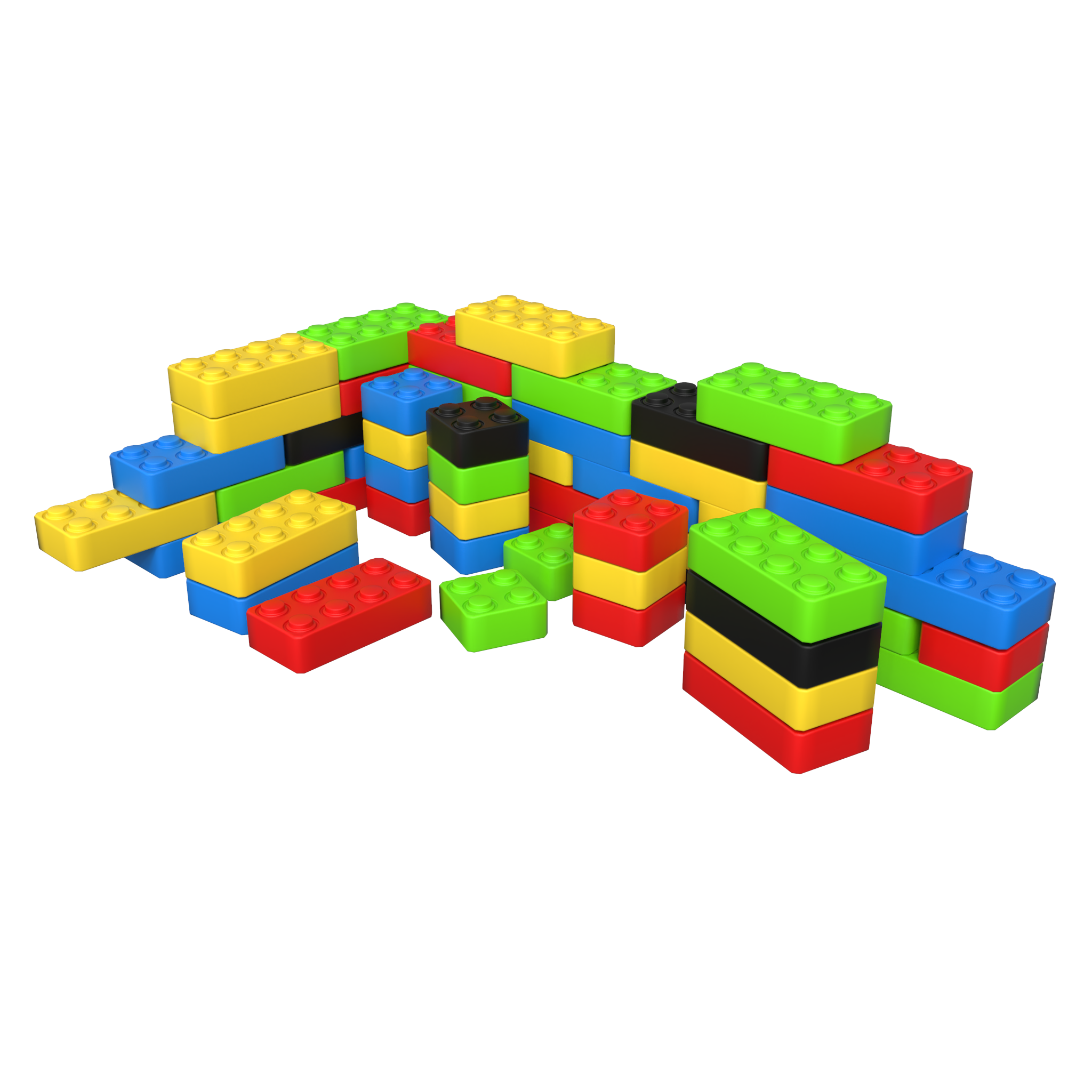 This image shows a Play system Funblocks