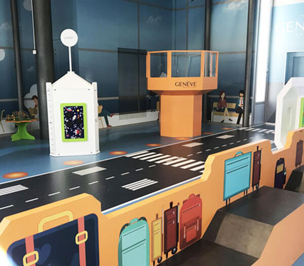 Play area Geneve Airport | IKC airports