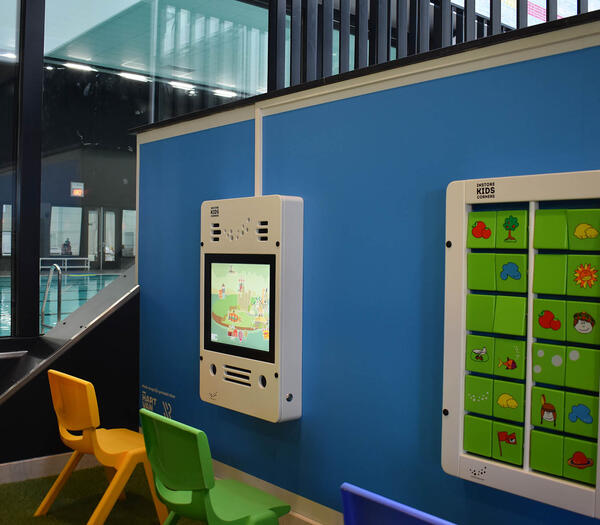 Play corner Zwemcentrum Rotterdam | IKC swimming pool