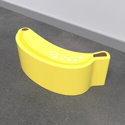 This image shows a soft play Banana