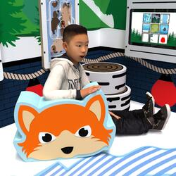 This image shows a soft play Evy