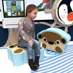 This image shows a soft play Otto