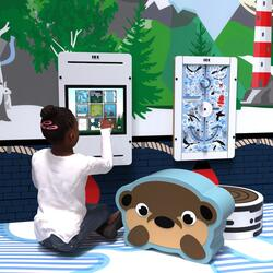 This image shows an kids corner Arctic S 2 m²