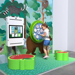 This image shows an kids corner Classic S 2 m²