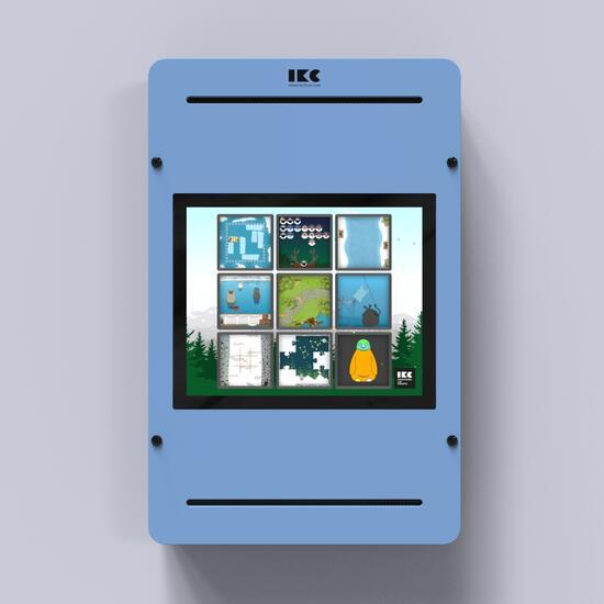 Op deze afbeelding staat een interactief speelsysteem Delta 17 inch Arctic