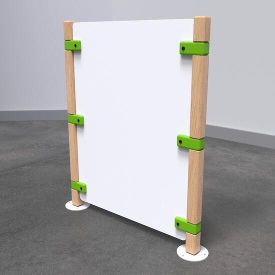 Op deze afbeelding staat speelhek Fence standard