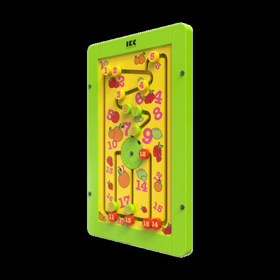 Leren tellen met dit educatieve muurspel voor kinderen | IKC wandspellen