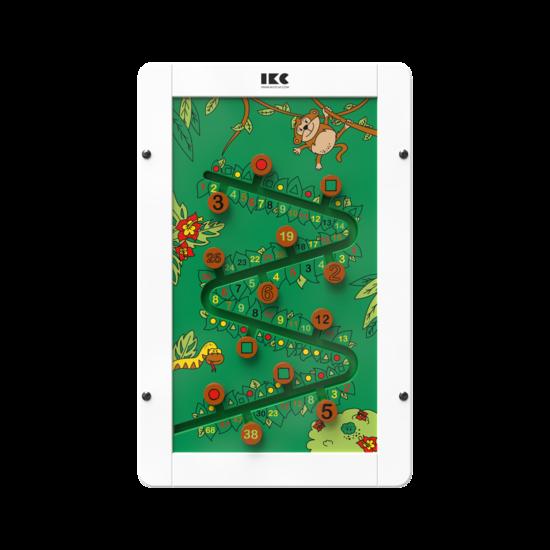 educatief sorteerspel voor kinderen aan de wand | IKC wandspellen muurspellen