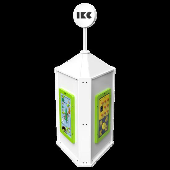 Speeltoren voor een kinderhoek met meerdere spellen  | IKC speelsystemen