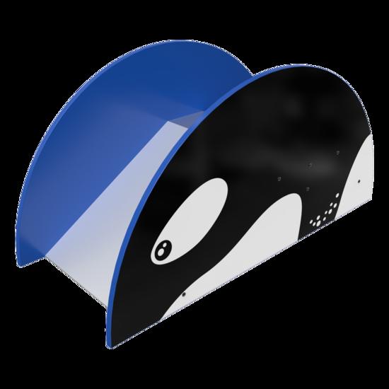 Een orka glijbaan voor uw kinderhoek   IKC speelsystemen