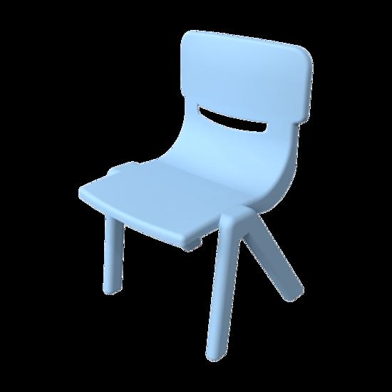 Stevige stapelbare stoel voor kinderen | IKC kindermeubels