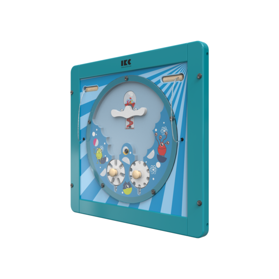 Verplaats de ballen door aan de draaischijven te draaien | IKC wandspellen