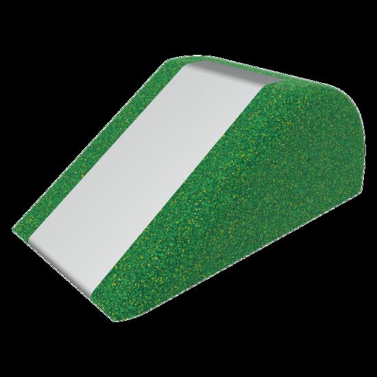 Glijbaan gemaakt van valdempend materiaal   EPDM