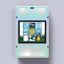 Op deze afbeelding staat een interactief speelsysteem Delta 17 inch Echo adaptive