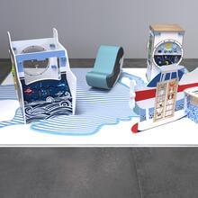 Op deze afbeelding staat een speelhoek Arctic L 12 m²
