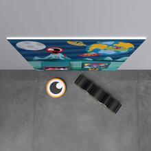 Op deze afbeelding staat een speelhoek Monster S 2 m²