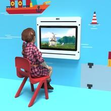 Op deze afbeelding staat een kinderstoel | IKC kindermeubels