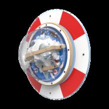 Een wandplaat met de uitstraling van een reddingsband voor uw kinderhoek | IKC Speelsystemen