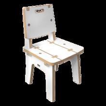 Wit houten stoel voor kinderen | IKC Kindermeubels