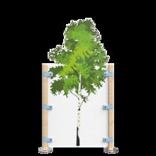 Hekwerk voor een speelhoek voor kinderen met een boom | IKC Hekwerken