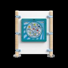 Hekwerk voor kinderhoek voor een wandspel   IKC Hekwerken