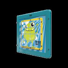 Houten schuifpuzzel |  IKC Wandspellen en muurspellen voor kinderen