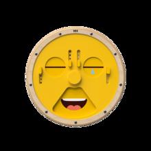 Wheel of emotions, een wandspel speciaal voor het nabootsen / imiteren van gezichtsuitdrukkingen en emoties