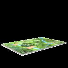 Voorbeeld van een design vinyl vloer voor een kinderhoek of speelruimte